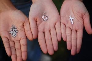 Symbols of the Three Monotheistic Religions